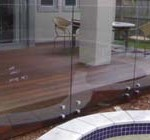 Frameless Balustrade and Standoffs