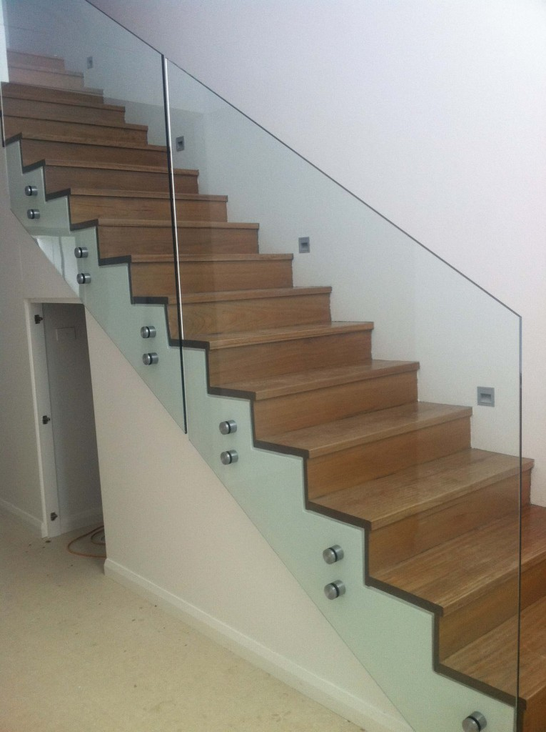 Frameless Glass Balustrade Stair