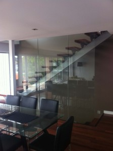 Floor to ceiling balustraded stairs